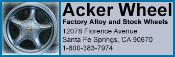 Acker Wheel, Factory Alloy and Stock Wheels